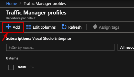 Traffic manager profiles