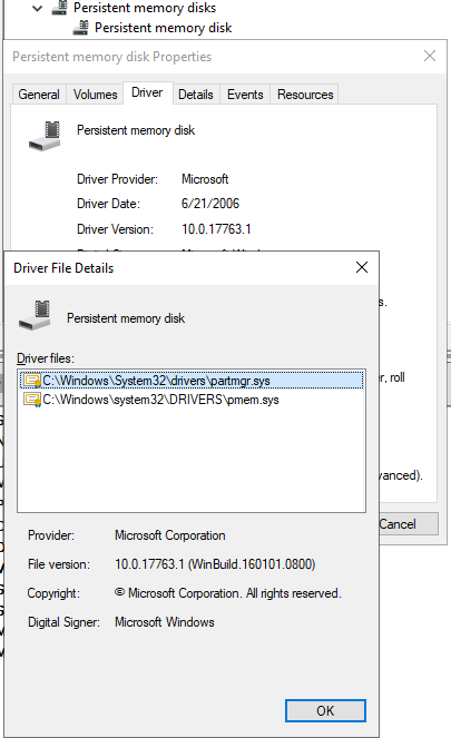 Configure NVDIMM-N on a DELL PowerEdge R740 with Windows
