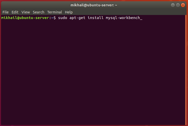 install MySQL Workbench