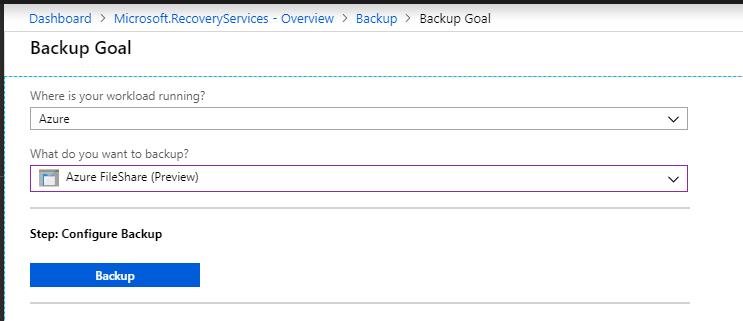 Protect Azure File Shares with Azure Backup   StarWind Blog