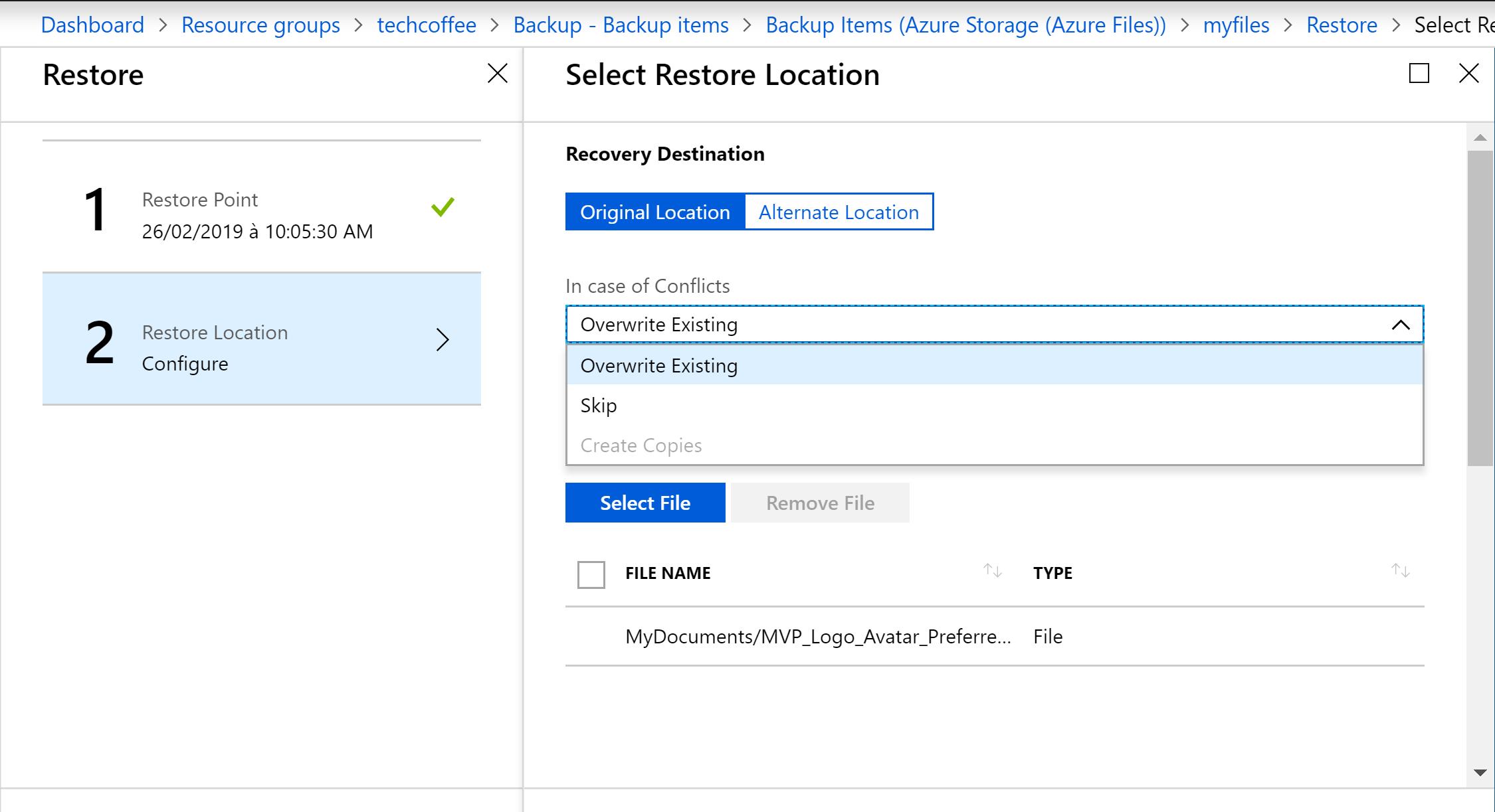 Protect Azure File Shares with Azure Backup | StarWind Blog