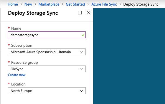 Azure File Sync