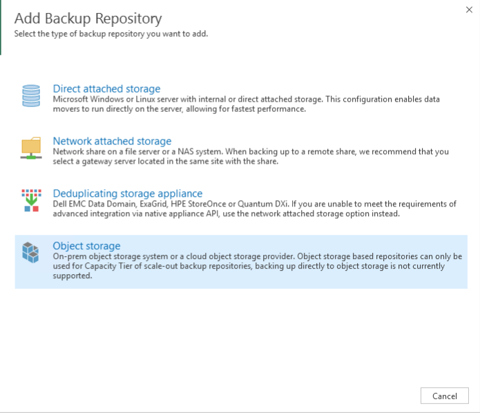 Store backups in Microsoft Azure from Veeam Backup & Replication 9 5