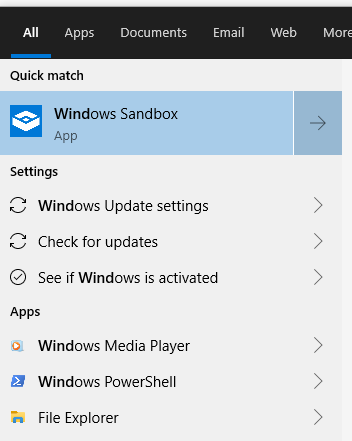 Sandbox mode is another nice feature alongside existing features