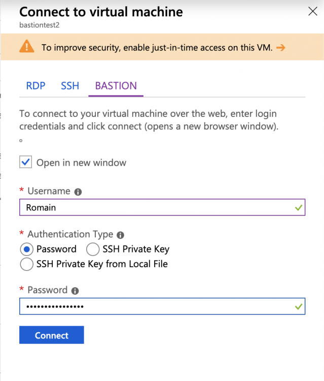 Pass or SSH private key