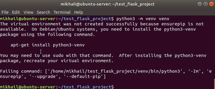 Ubuntu 18.04 includes Python 3