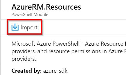 AzureRM.Resources