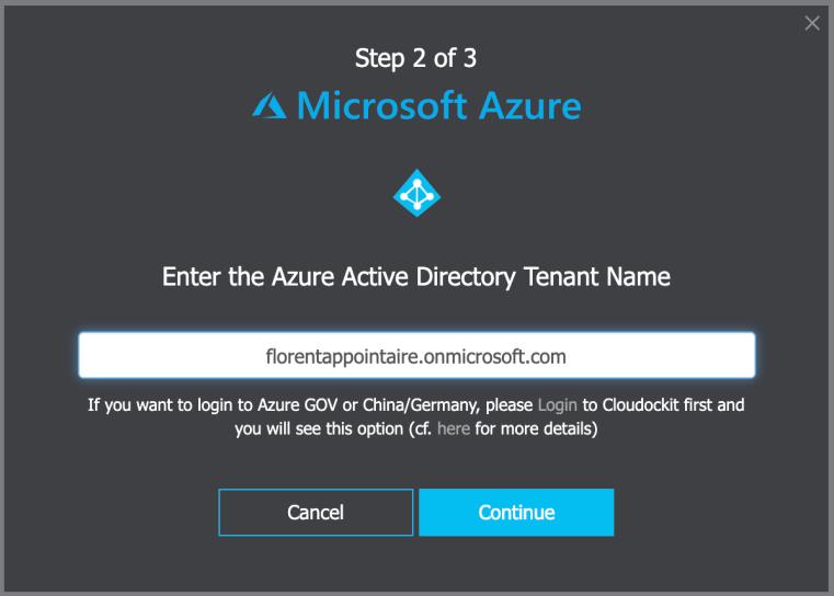 Azure AD Tenant