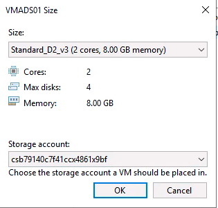 VM Size detailed