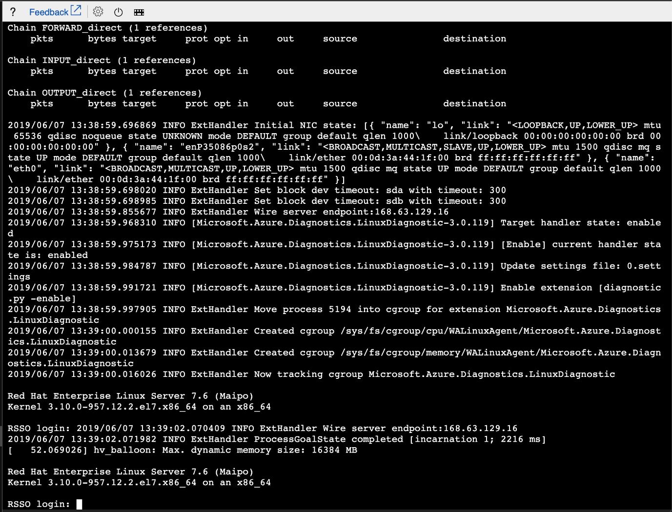 SELinux feedback