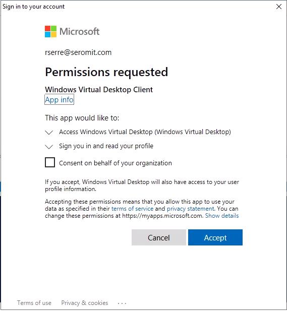 Create a Windows Virtual Desktop tenant