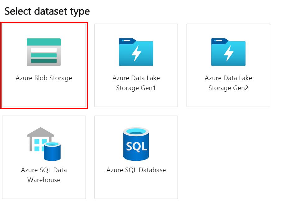 Azure data stores