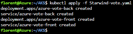 Kubectl apply
