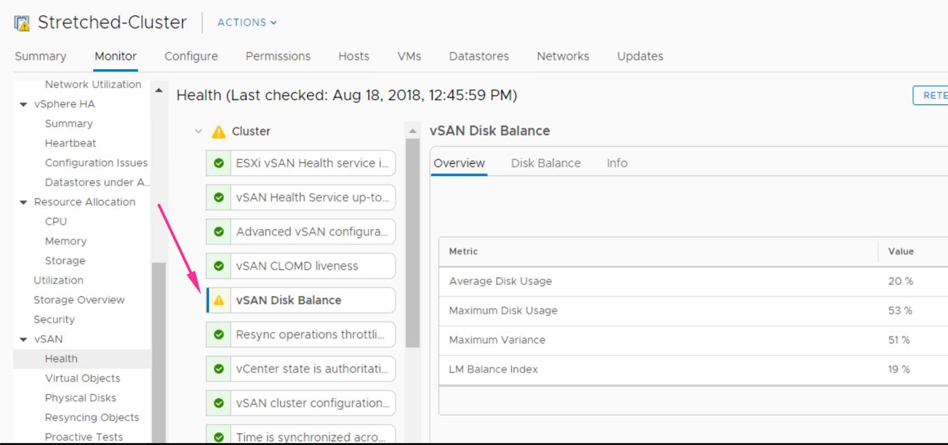 VMware vSAN cluster