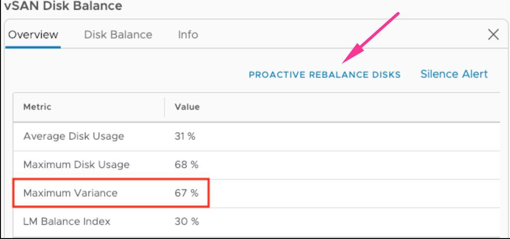 Automatic Rebalance option