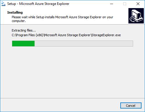Setup Azure Explorer