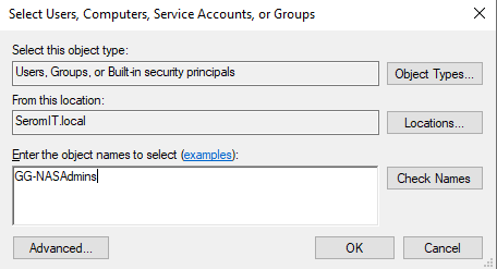 Add groups or users from your On-Premises Active Directory