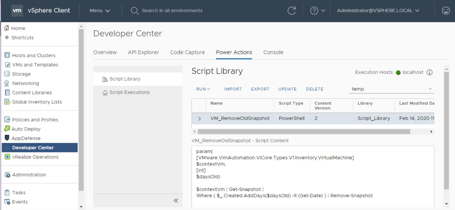 HTML5-based vSphere Client