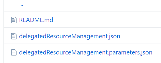 Azure Resource Manager Template