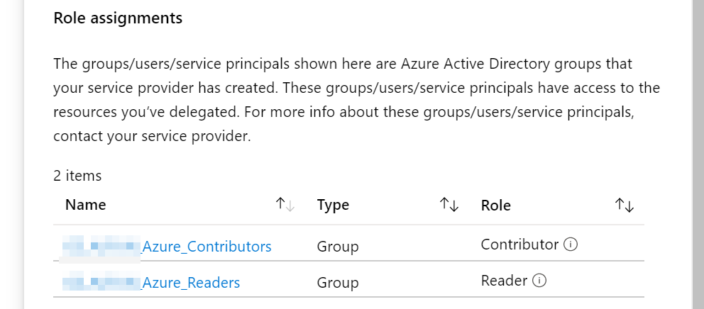 Azure AD groups