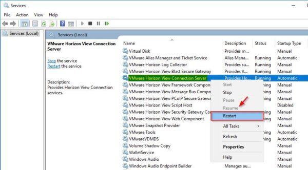 VMware Horizon View Connection Server