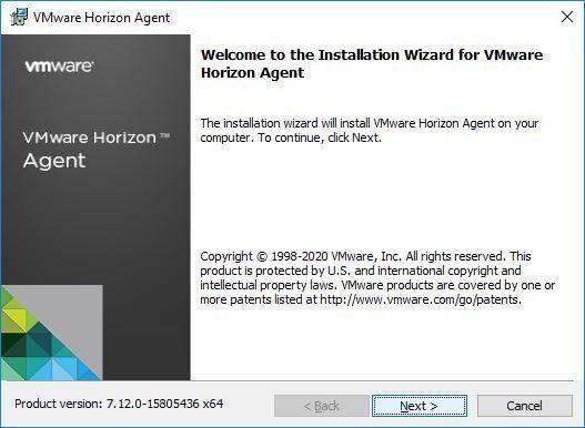 Horizon Agent installation