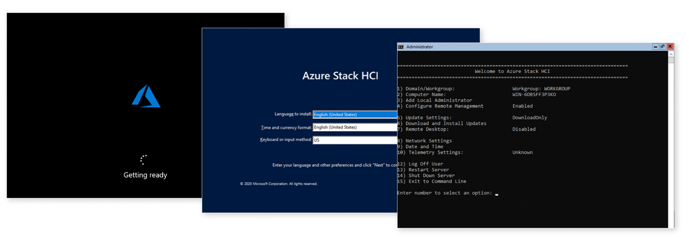 OS by Azure Stack HCI