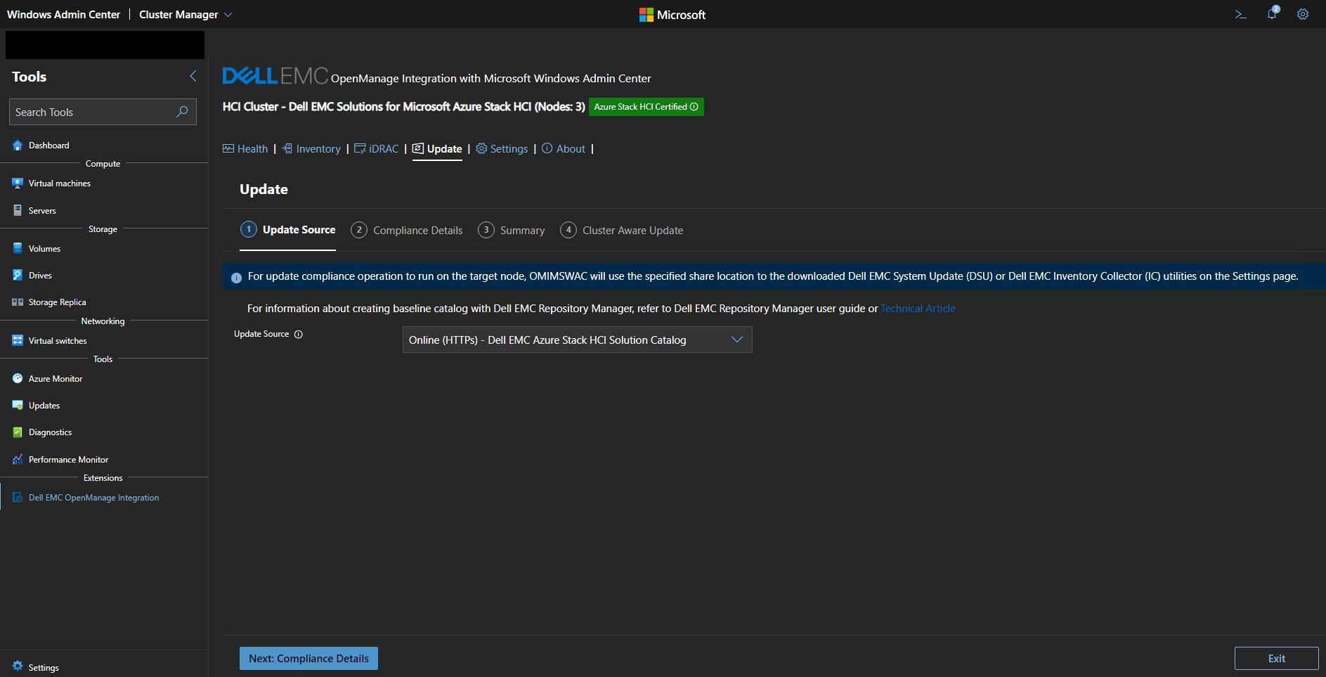 Online – Dell EMC Azure Stack HCI