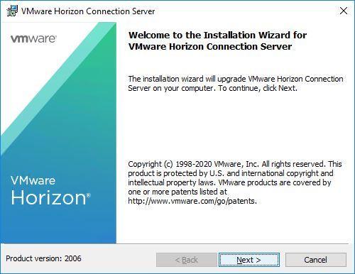 Upgrade Horizon to version 2006