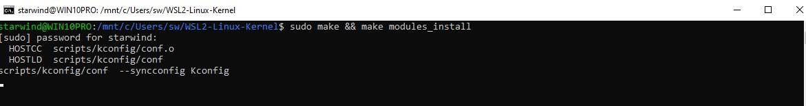 Build a kernel