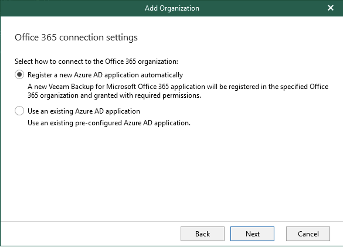 Azure AD application automatically