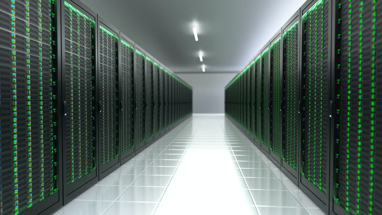 Figure 2: More and more data centers and server rooms color Veeam green and with good reason