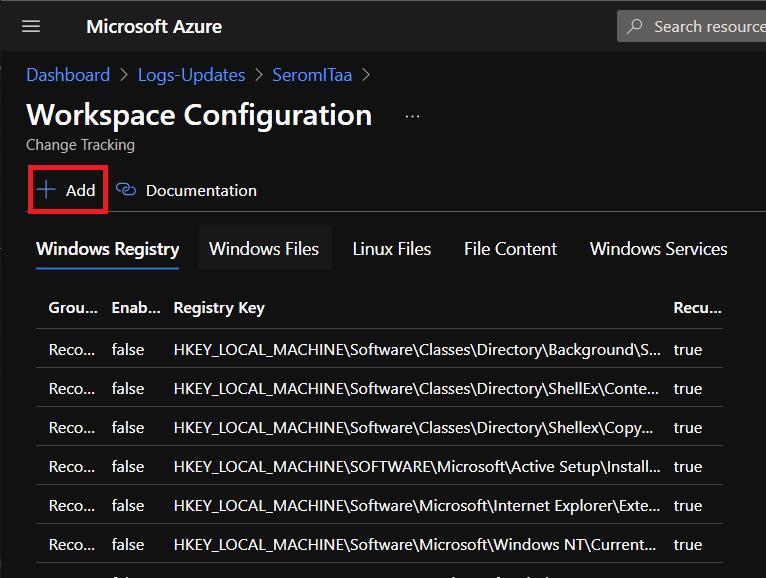 Windows Registry