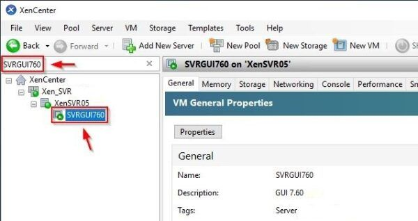 VM General Propetries