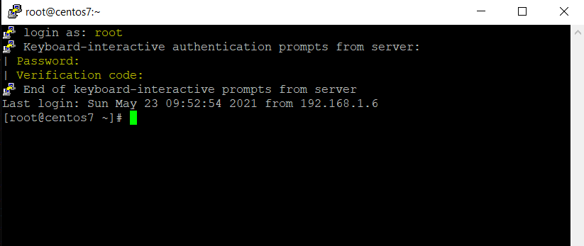 Testing Multifactor SSH Authentication