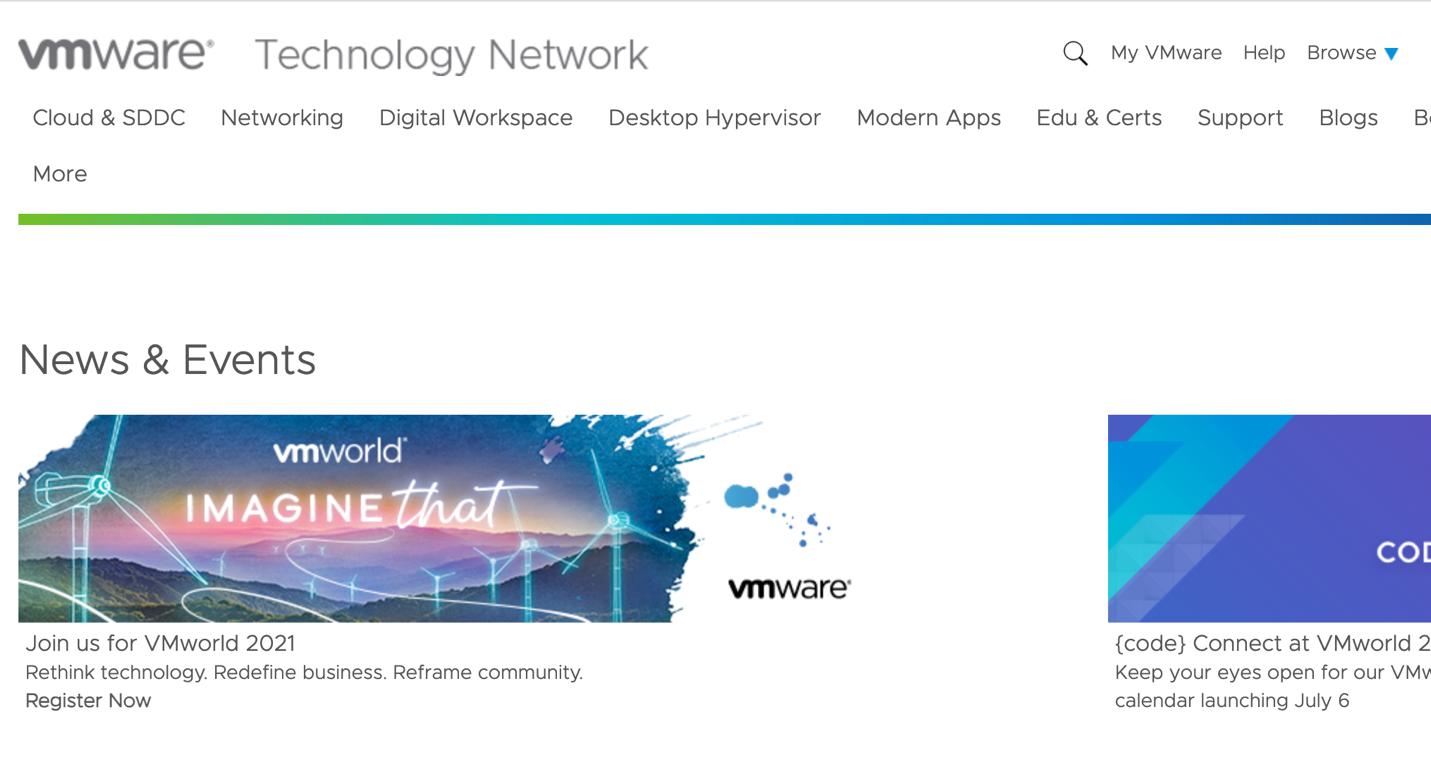 VMware Technology Network
