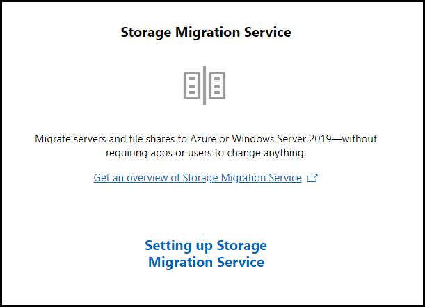 Add Storage Migration Service to Windows WAC first