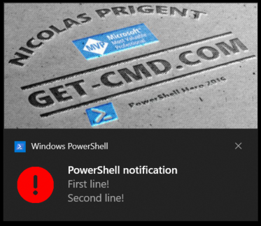 New Image element for Toast Notifications