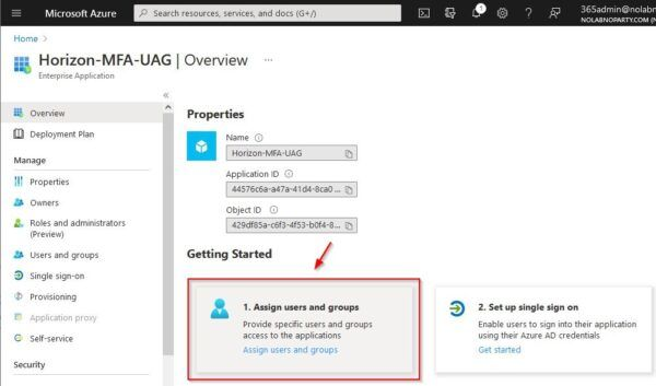 Assign users and groups