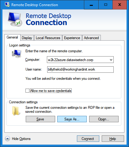 Remote Desktop Gateway