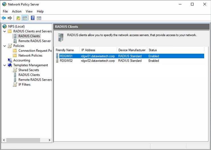 Figure 6: Add both RD Gateway servers