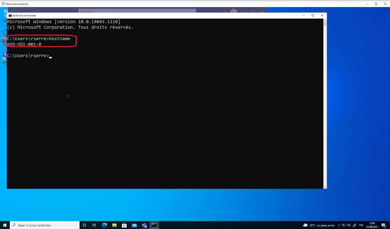 Azure Virtual Desktop VM
