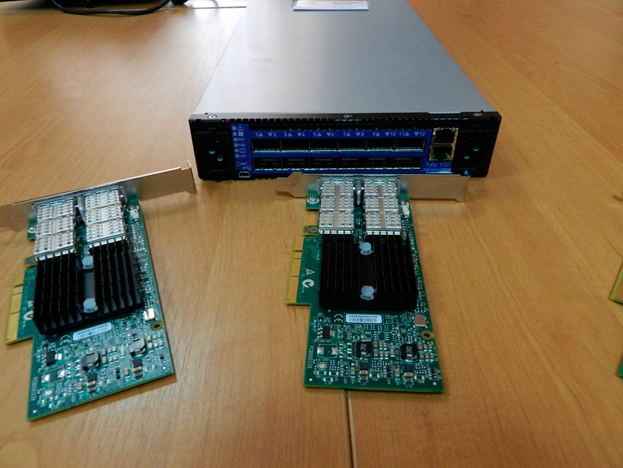 ConnectX – 3QDR Infiniband cards