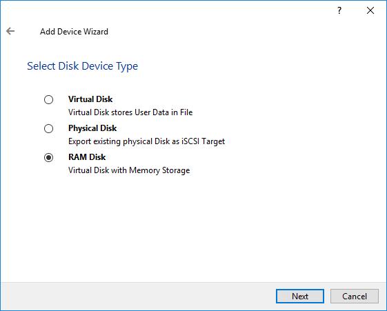 starwind virtual ram disk emulator