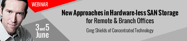 Live Webinar: New Approaches in Hardware-less SAN Storage for Remote & Branch Offices