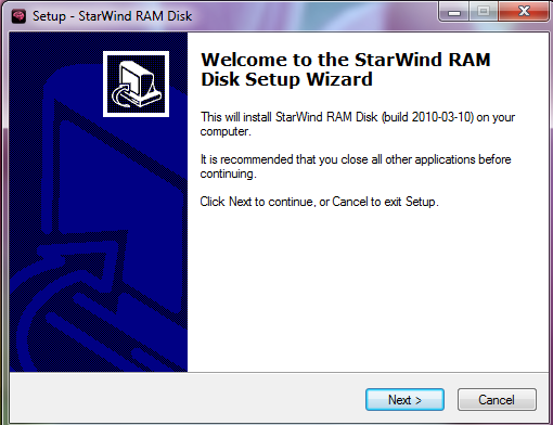 Click to view StarWind RAM Disk screenshots