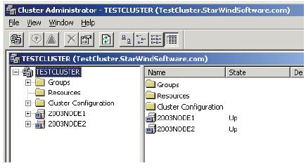 How to configure a failover cluster using Microsoft Windows 2003/2008