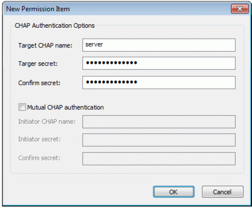 StarWind iSCSI SAN & NAS: Challenge Handshake Authentication Protocol (CHAP)