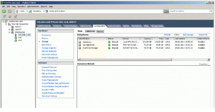 StarWind iSCSI SAN & NAS: ESX Storage Migration
