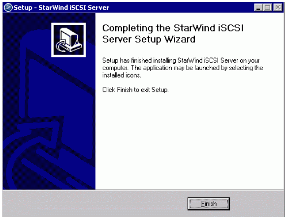 StarWind iSCSI SAN & NAS: Installing StarWind on Windows Server 2008 R2 Server Core